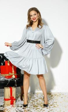 Dress Anastasia 523+remen serebr