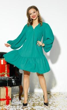 Dress Anastasia 523 izumr