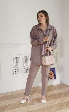 Trousers, overalls, shorts BegiModa 6005 korichnevyj