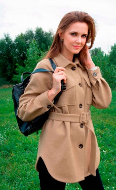 Coat Asolia 3025/1 sv.bezh