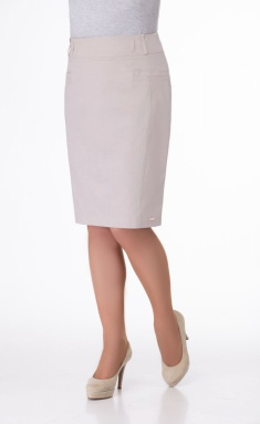 Skirt Elite Moda 3029-1 bezh