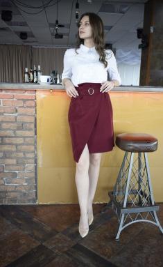 Skirt Amori 3068 vishnya 164