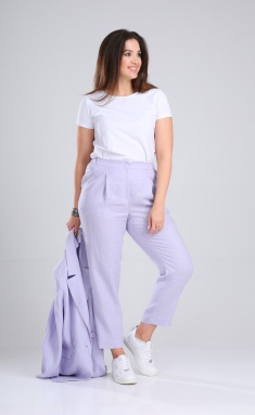 Trousers MALI 321-002 lavanda
