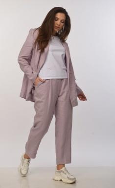 Trousers MALI 321-002 svetlo-sirenevyj