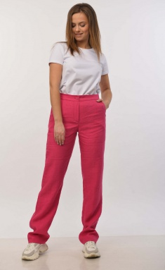 Trousers MALI 321-014 fuksiya
