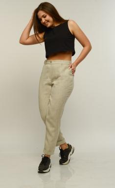 Trousers, overalls, shorts MALI 321-053 naturalnyj