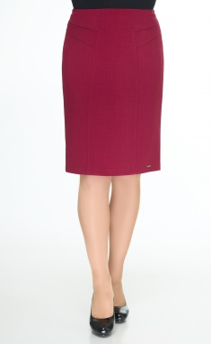 Skirt Elite Moda 3254 bordo