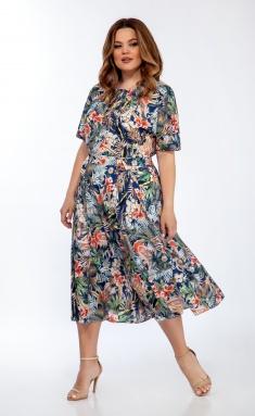 Dress OLEGRAN 3739 print