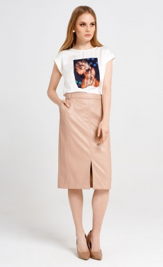 Skirt Panda 38450z bezh