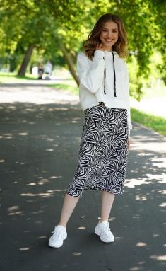 Skirt Prestige 3938/170 cherno bel