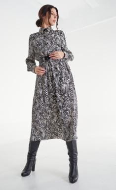 Dress MALI 421-092 zebra bezh