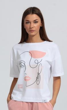 T-Shirt Kivviwear 402604 belyj