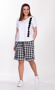 Shorts Belinga 4045 cherno-belyj