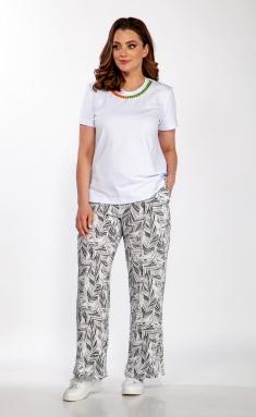 Trousers Belinga 4058 seryj print