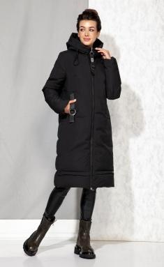Coat Beautiful & Free 4060 chyornyj