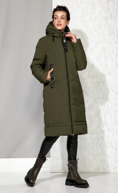 Coat Beautiful & Free 4060 xaki