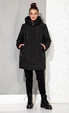 Coat Beautiful & Free 4062 chyornyj