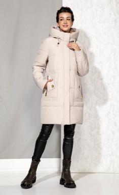 Coat Beautiful & Free 4063 bezhevyj