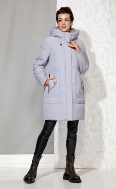 Coat Beautiful & Free 4063 sero-goluboj