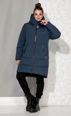 Coat Beautiful & Free 4064 biryuza