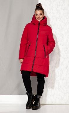 Coat Beautiful & Free 4064 krasnyj