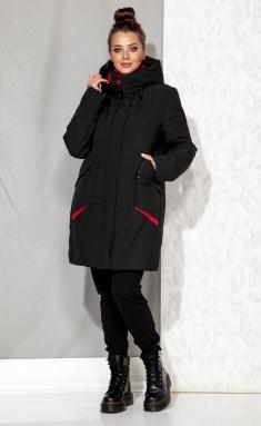 Coat Beautiful & Free 4065 chyornyj