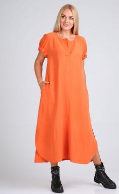 Dress Sale 04097 oranzhevyj