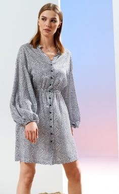 Dress Prestige 4152/170 belo-chern