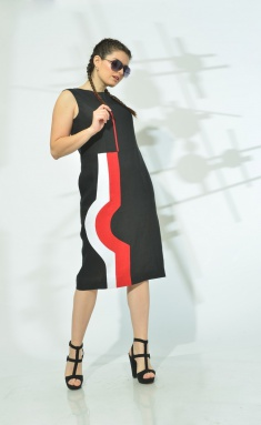 Dress MALI 419-036 chern