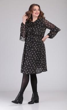 Dress MALI 420-121 rozochki