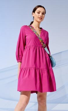 Dress Prestige 4205/170 fuksiya