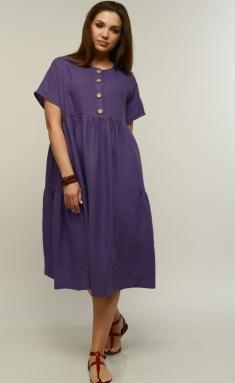 Dress MALI 421-016 fiolet