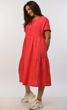 Dress MALI 421-016 korall