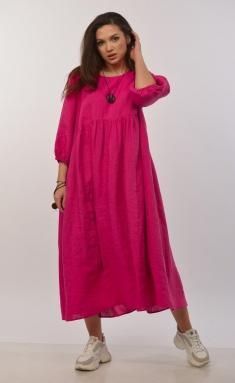 Dress MALI 421-017 fuksiya