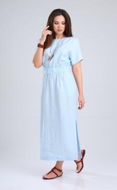 Dress MALI 421-020 goluboj