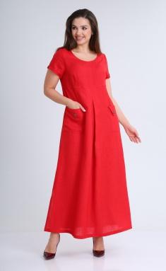 Dress MALI 421-042 krasnyj