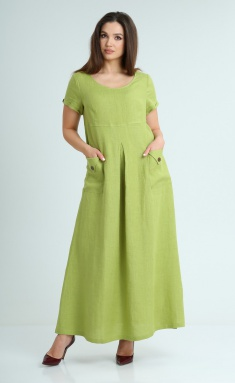 Dress MALI 421-042 yabloko