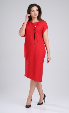 Dress MALI 421-048 krasnyj
