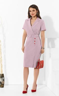 Dress Lissana 4325 dym.roz