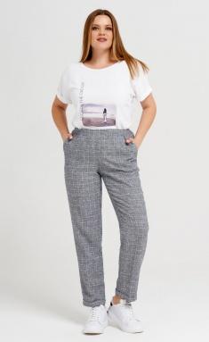 Trousers Panda 43267z cherno-bel