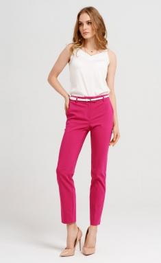 Trousers Panda 437067 malinovyj