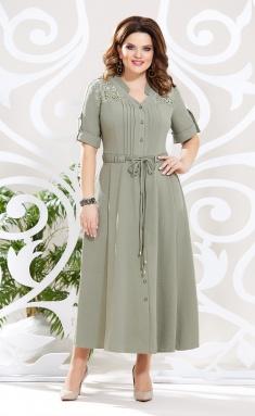 Dress Mira Fashion 4615 xaki