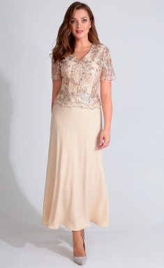 Dress Golden Valley 4617 bezh