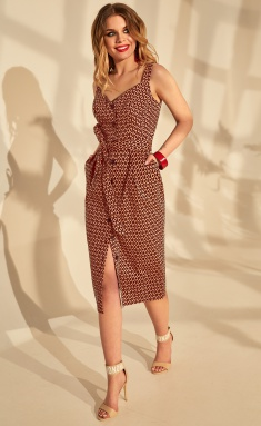 Dress Golden Valley 4664 bord