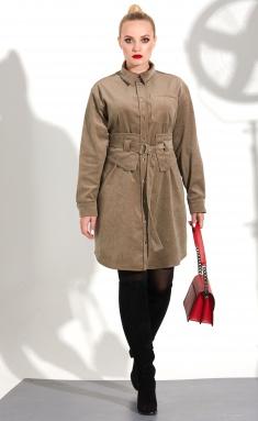 Dress Golden Valley 4707-1 kapuchino