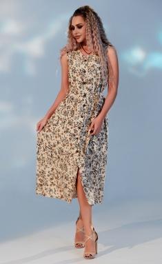 Dress Sale 4736 bezh