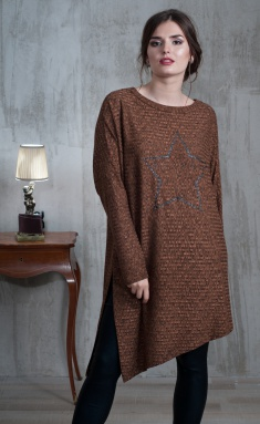 Tunic Faufilure Outlet S479 melanzh ter