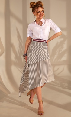 Skirt Golden Valley 5039 belo-sinyaya