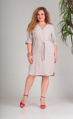 Dress SandyNA 13684 bezhevyj