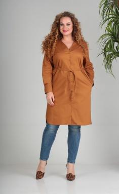 Dress SandyNA 13684 oxra